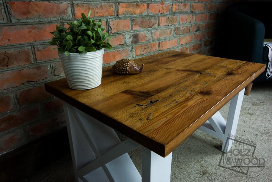 Stolik Kawowy Drewniany Ze Starego Drewna Siemion